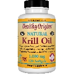 Healthy Origins Krill Oil (純磷蝦油丸) 1000mg 120粒
